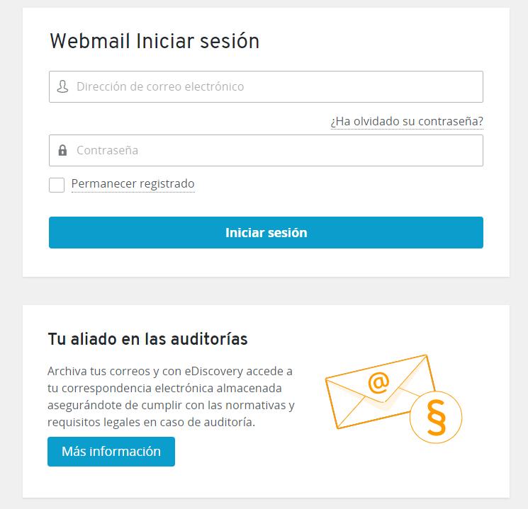 Ionos webmail